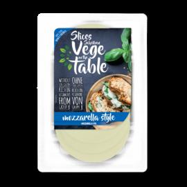 Vege on the Table Mozzarella ízű szeletek (vegán, gluténmentes) 100 g