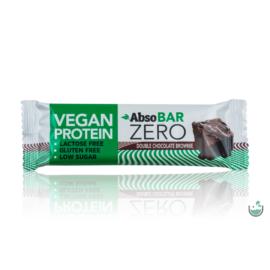 AbsoBAR ZERO csokoládés brownie ízesítésű fehérjeszelet 40 g (gluténmentes)