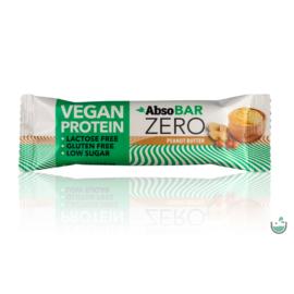 AbsoBAR ZERO mogyoróvaj ízesítésű fehérjeszelet 40 g – Natur Reform