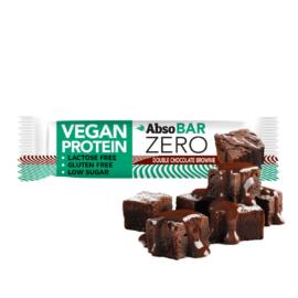 AbsoBAR ZERO Csokoládés brownie ízesítésű fehérjeszelet 40 g
