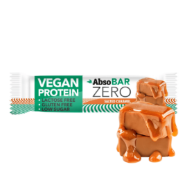 AbsoBAR ZERO Sós karamella ízesítésű fehérjeszelet 40 g (gluténmentes)