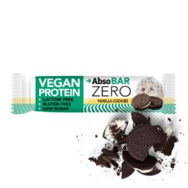 AbsoBAR ZERO vaníliás keksz ízesítésű fehérjeszelet 40 g (gluténmentes)