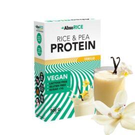 AbsoRICE vanília ízű vegán fehérjepor 500 g (gluténmentes)