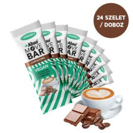 Abso MOVE BAR Kínáló (24dbx35g) - Cappuccino ízű vegán fehérjeszelet