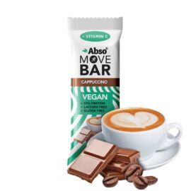 Abso MOVE BAR 35 g - Cappuccino ízű vegán fehérjeszelet