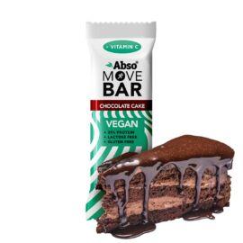 Abso MOVE BAR 35 g - Csokoládétorta ízű vegán fehérjeszelet