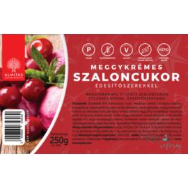 Almitas Meggykrémes szaloncukor édesítőszerrel 250 g – Natur Reform