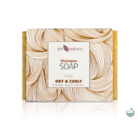 ArtNatura Göndör és száraz hajra való sampon szappan 85 g