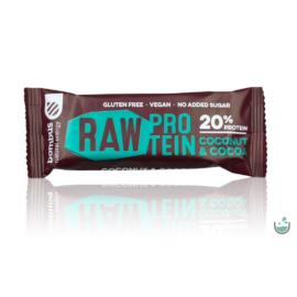 Bombus nyers fehérjeszelet kókusz & kakaó 50 g - Natur Reform