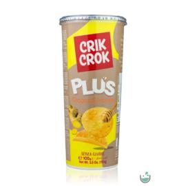 Crik Crok gluténmentes mézes-gyömbéres chips 100 g – Natur Reform