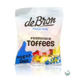 DeBron glutén- és cukormentes gyümölcsös olvadós cukorka 90 g – Natur Reform