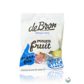 DeBron glutén- és cukormentes poker fruit gumicukor 90 g