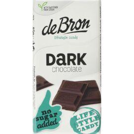 DeBron hozzáadott cukormentes táblás étcsokoládé 85 g