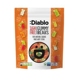 Diablo Cukormentes gumimaci cukorkák 75 g