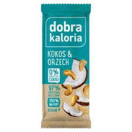 Dobra Kaloria Energiaszelet kókusz-kesudió 35 g - Natur Reform