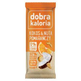 Dobra Kaloria Energiaszelet kókusz-narancs 35 g - Natur Reform
