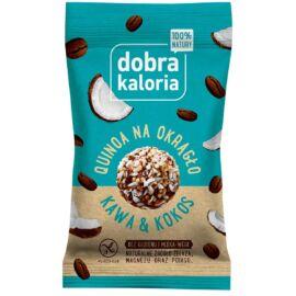 Dobra Kaloria Quinoa energiagolyó kókusz-kávé 24 g - Natur Reform