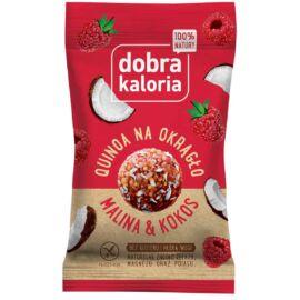Dobra Kaloria Quinoa energiagolyó málna-kókusz 24 g - Natur Reform