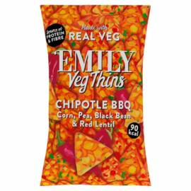 Emily Vegán tortilla chips – barbecue ízű 23 g – Natur Reform