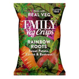 Emily Zöldség chips – Szivárványos gyökérzöldségek 100 g