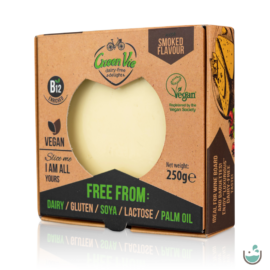 Green Vie Füstölt Gouda ízesítésű tömb 250 g