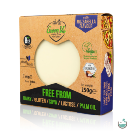 Green Vie Olvadós mozzarella ízesítésű növényi tömb 250 g