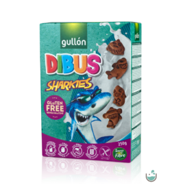 Gullón Dibus Sharkies - gluténmentes reggeliző keksz 250 g