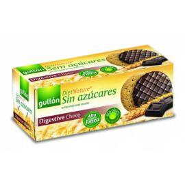 Gullón Digestive Choco cukormentes korpás csokoládés keksz édesítőszerrel 270 g