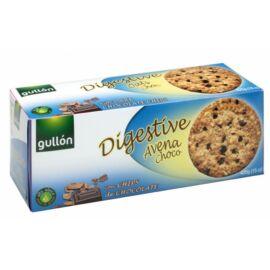 Gullón Teljes kiőrlésű keksz zabbal, étcsokoládé darabokkal 425 g