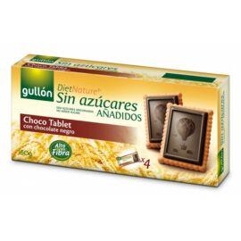 Gullón Choco Tablet - Étcsokoládés keksz hozzáadott cukor nélkül 150 g
