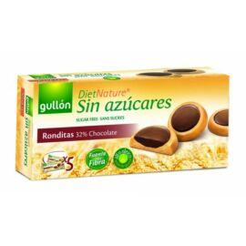 Gullón Ronditas - Étcsokoládéval töltött cukormentes keksz édesítőszerrel 186 g