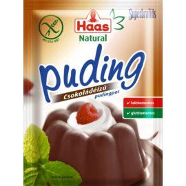 Haas Natural csokoládéízű pudingpor 44 g - Natur Reform