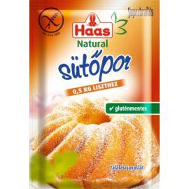 Haas Natural sütőpor 12 g