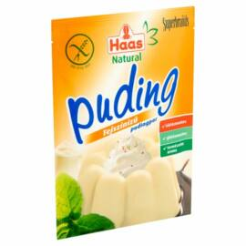 Haas Natural tejszínízű pudingpor 40 g - Natur Reform