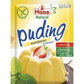 Haas Natural vaníliaízű pudingpor 40 g