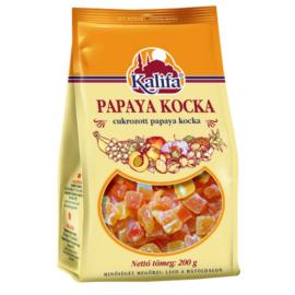 Kalifa Cukrozott aszalt papaya kocka 200 g - Natur Reform