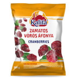 Kalifa Zamatos vörös áfonya 100 g