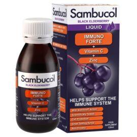 Sambucol Fekete bodza Immuno forte szirup felnőtteknek 120 ml