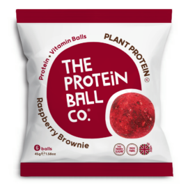 Protein Ball Málnás brownie (vegán) 45 g – Natur Reform