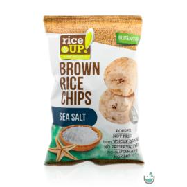 Rice UP! Tengeri sós barna rizs chips 60 g – Natur Reform
