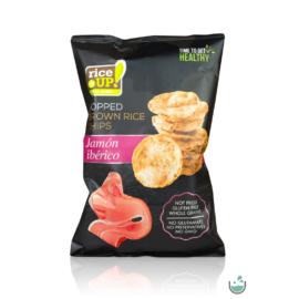 Rice UP! ibériai sonka ízesítésű barna rizs chips 60 g – Natur Reform