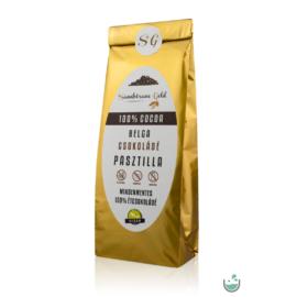 Sambirano Gold – 100% kakaótartalmú belga étcsokoládé pasztilla 100 g