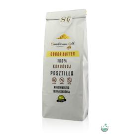 Sambirano Gold – 100% tisztaságú prémium belga kakaóvaj pasztilla 100 g