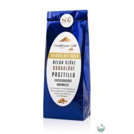 Sambirano Gold – Belga szőke (karamellás) csokoládé pasztilla 100 g – Natur Reform