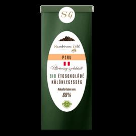 Sambirano Gold Perui Bio Étcsokoládé Különlegesség 50 g