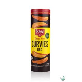 Schär Curvies BBQ Ízesítésű Chips (gluténmentes) 170 g