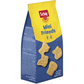 Schär Mini Friends Kekszek 125 g