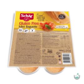 Schär Mini bagett duo 150 g - gluténmentes, vegán