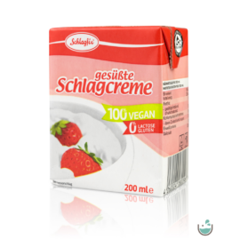 Schlagfix vegán habkrém 15% édesített 200 ml – Natur Reform
