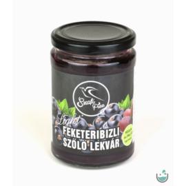 Szafi Free feketeribizli-szőlő lekvár 350 g